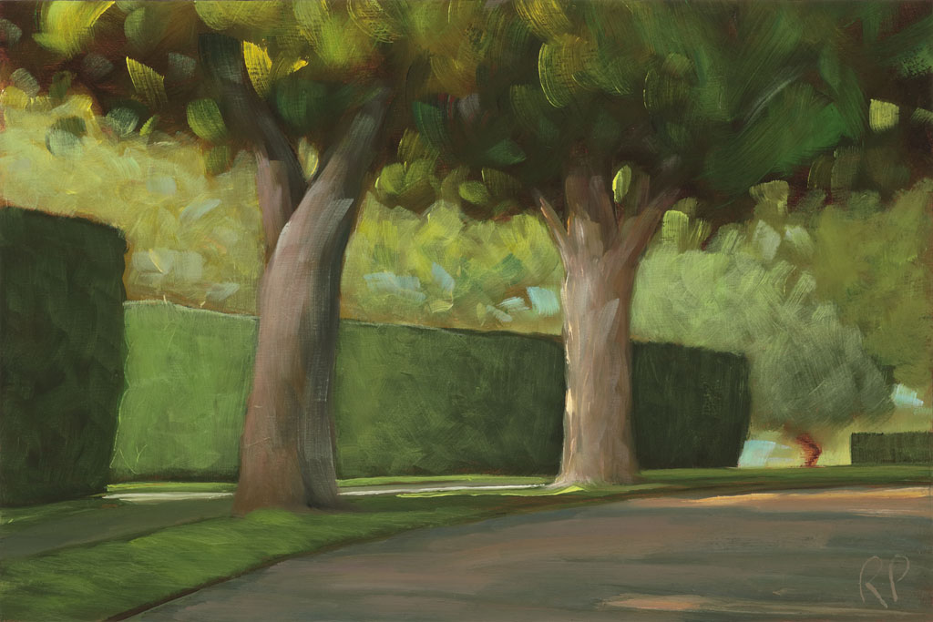 study 15-68 Soft Shadows 6.3x9.5s painted by Canadian Landscape Artist Ross Penhall