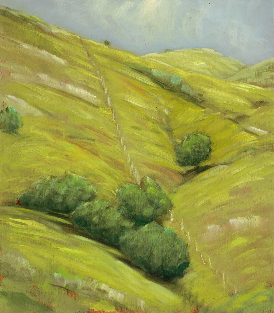 study 18-91 Day Hike 8x7s painted by Canadian Landscape Artist Ross Penhall