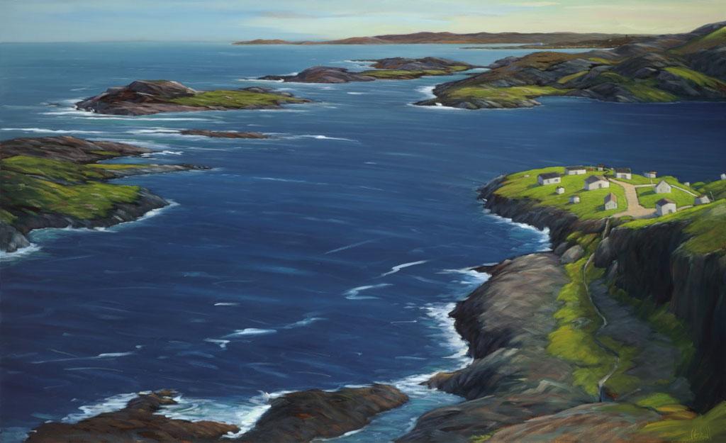 Fogo Island | 44 X 72 | oil on canvas