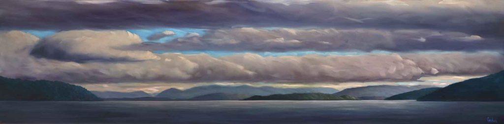 19-09-South-Coast-21x84-oil-on-canvas
