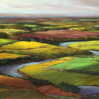19-14 Flight Path 36x72 oil on canvas