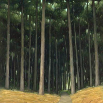 18-35 Bay Area Ridge Trail 60x48 oil on canvas revision 300dpi