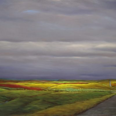 19-25 Section Road 48x72 oil on canvas