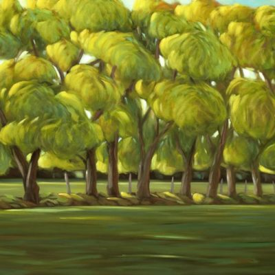 20-37 Good Neighbour 30x60 oil on canvas revision