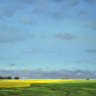 21-03 Distance 45x65 oil on canvas