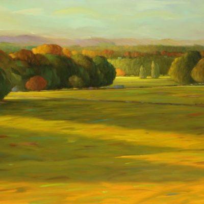 21-08 Last Light 32x72 oil on canvas