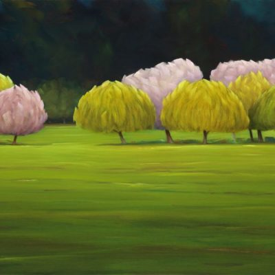 21-16 Middle Ground 32x50 oil on canvas